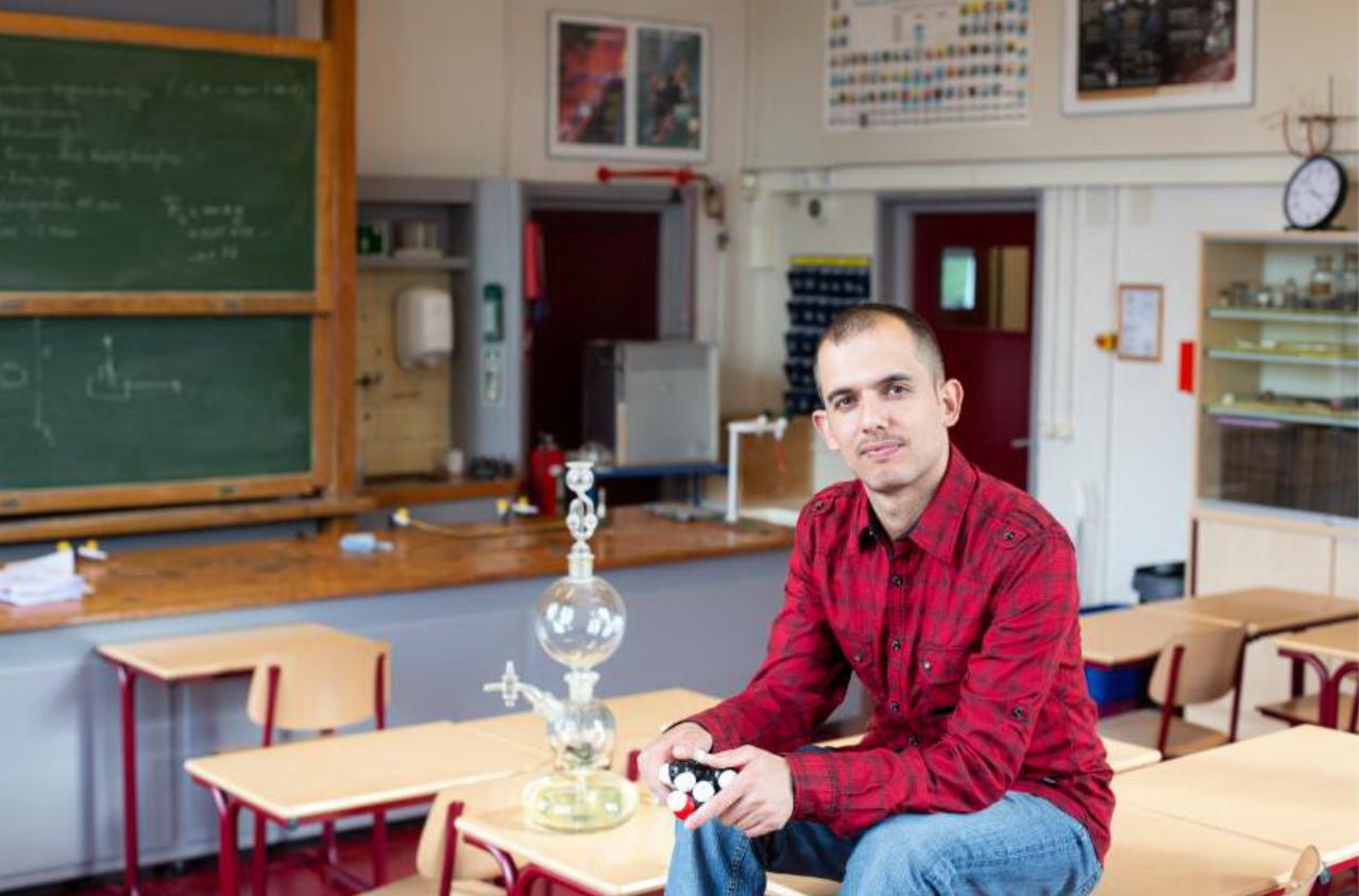 'Als ik vloeiend Nederlands spreek, kan ik wel duizend lessen geven'